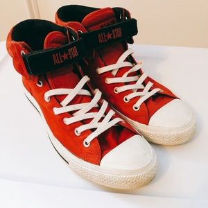 Converse All Stars Red Men Shoes